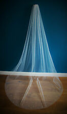 Wedding Veil *Chapel Length*1 Tier*the falling star* crystal&pearl *Bespoke *