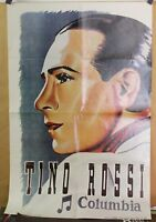 ✤ Affiche Reprint ✤ TINO ROSSI ✤ 60cm. x 90cm