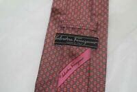 RECENT Men's Salvatore Ferragamo  Silk Tie Made in italy