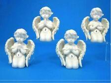 One Cherub Angel Sitting Praying Statue 7cm x 5cm x 9cm 144gm Each
