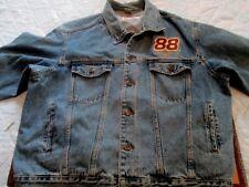 Nascar Dale Jarrett #88 UPS Racing Jean Jacket Size XXL
