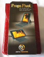 Red Alligator Digital Treasures Props Pivot Carrying Case for Kindle Fire
