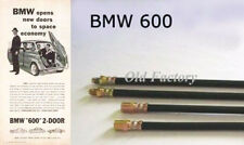 * BMW 600 60's front/rear brake hoses set  4 PIECES NEW RECENTLY MADE