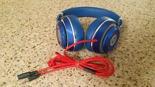 Beats By dr Dre Studio Display Demo Model Wired Blue color Used working good .