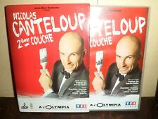COFFRET 2 DVD - NICOLAS CANTELOUP - 2éme Couche - 3 H 10 - Excellent état