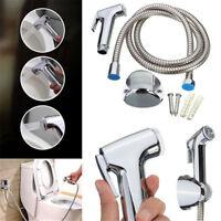 Stainless Steel Handheld Bidet Spray Shower Head Toilet Shattaf Hose Bathroom US