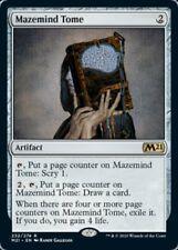 MTG x4 Mazemind Tome Core Set 2021 RARE NM/M Magic the Gathering SKU#00
