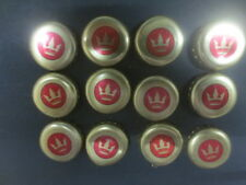 12 CROWN  BEER Australian Issue Bottle caps/tops  collectable
