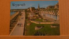 Postcard Unposted Dorset Weymouth, Greenhill Gardens