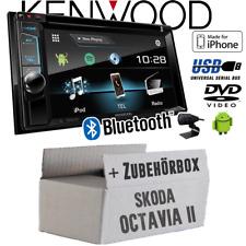 Kenwood Auto Radio für Skoda Octavia 2 1Z Blues Stream etc.DAB+ DVD USB CD MP3
