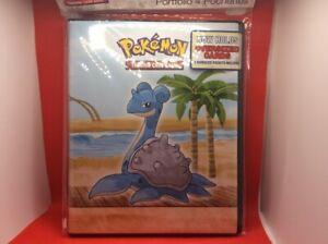 Pokemon TCG Ultra Pro 4-Pocket Binder Seaside. New. B3G1 Free!