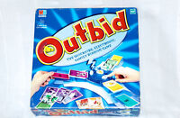 OUTBID by MB Games - Talking Electronic Family Bidding Board Game - Complete VGC
