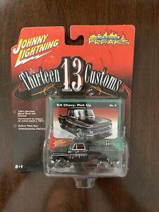 Johnny Lightning Street Freaks Thirteen 13 Customs '64 Chevy Pick up No. 6