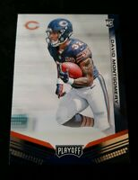 A8 David Montgomery 2019 Playoff RC Chicago Bears Rookie Card
