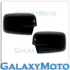 2009-2015 Dodge Ram HD WITHOUT Turn Light Gloss Shiny Black Full Mirror Cover