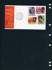 Papua New Guinea Scott 491-4 Music First Day Cover