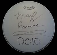 THE RAMONES - MARKY RAMONE - SIGNED DRUMHEAD - AUTOGRAPH DH1