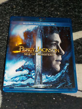 Percy Jackson Sea of Monsters 2 Disc Blu Ray +DVD Free Shipping