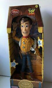 TOY STORY Disney talking woody doll boxed (k6)