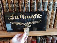 Plaque en pierre gravée Luftwaffe