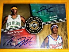 2006-07 Upper Deck Rookie Debut Draft Duos Auto DD-LS J.R.Smith/Shaun Livingston
