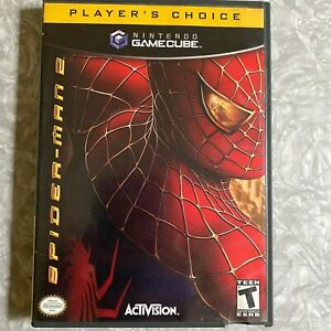 Spider-Man 2 Nintendo Gamecube *Missing Manual* Tested Fast Ship! Spiderman