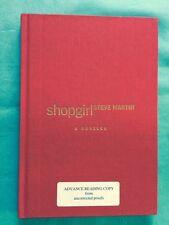 SHOPGIRL - ADVANCE LIMITED READING COPY SIGNED BY STEVE MARTIN