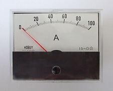 R59 Dc Amperímetro Para Usar Con Derivador 0-100amps r59100as