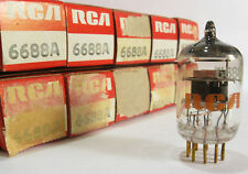 One 1974 Mullard/RCA 6688A (E180F) 'Gold Pin' tube - New Old Stock / New In Box