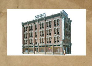 NEW ~ DOWNTOWN HOTEL Building Kit by DPM ~ Mayhayred Trains N Scale Lot