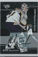 02-03 2002-03 BE A PLAYER SIGNATURE SERIES MIKE DUNHAM 01-02 BUYBACK AUTO 093