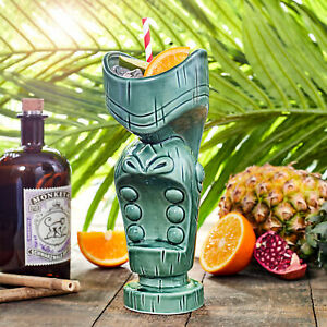 Mouth Tiki Mugs 21oz / 600ml - Ceramic Hawaiian Cocktail Mug