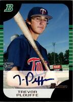 2005 Bowman Autographs #149 Trevor Plouffe A Auto - NM-MT