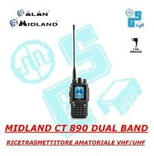CT 890 MIDLAND New Version RADIO DUAL BAND VHF FULL DUPLEX Scrambler Compander