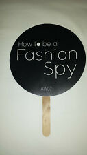 "Ventilatore Pubblicitario ""spionaggio MOSTRE"" SCIENZA Museo 2007 London fashion week"