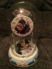 Gone With the Wind Clock Turner Ent. Company Music Box