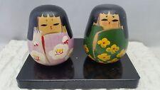 6cm Vintage Creative Artistic Sosaku HINA NINGYO Kokeshi  Japanese Wood Dolls