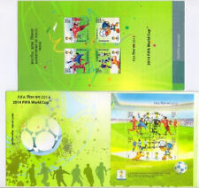 India First Day Cover 2014 FIFA World Cup Set + Free Folder