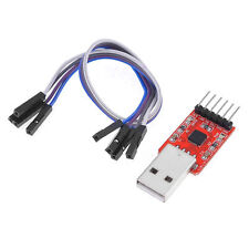 CP2102 USB 2.0 to TTL UART Serial Converter Module 5P STC PRGMR Mit 6pin Kable