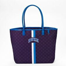 NCAA Duke University Canvas Tote Blue Devils Handbag Purse Bag Football Official