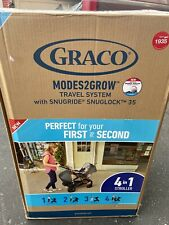 Graco Modes2Grow Travel System W/ Snugride Snuglock 35 Lotte Fashion Stroller