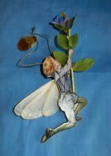 Bradford Editions 2000 Periwinkle Flower Fairy Porcelain Christmas Ornament
