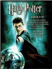Harry Potter: Jahr 1 - 5 (5 DVDs) Film BOX - gerbraucht
