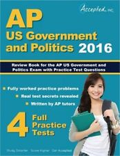 AP Us Government and Politics 2016: Review Book for AP United States Government