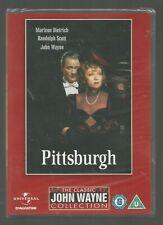 PITTSBURGH - sealed/new - UK R2 DVD - John Wayne Collection / Marlene Dietrich