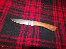 Vintage Ka-Bar 1228 Fixed Blade Knife With No Sheath, Cleveland Ohio