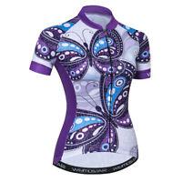 Women's Cycling Jersey Clothing Bicycle Sportswear Short Sleeve Bike Shirt  F30