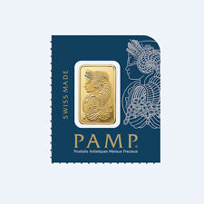 Goldbarren 1g 1 Gramm Pamp Suisse Fortuna Gold 99,99 gold bar 1 g Multigram
