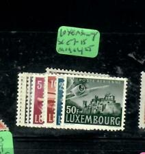 LUXEMBOURG   AIR MAIL STAMPS (P3107B)   SC C  7-15       MOG
