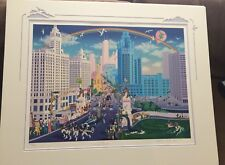 "Melanie Taylor Kent ""Chicago Michigan Avenue""  Signed Serigraph 346/400"